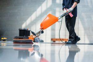 floor buffing and burnishing