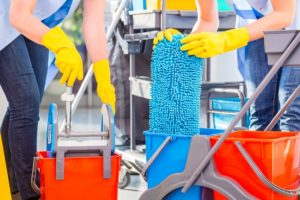 commercial janitorial service